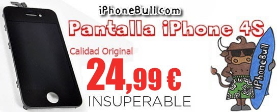 Pantalla iPhone 4S - REPUESTOS