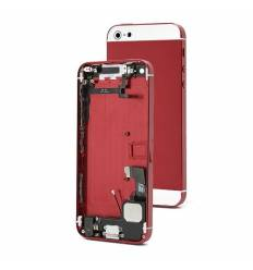 Chasis Completo iPhone 5 - Rojo y Blanco