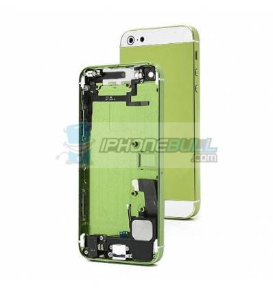 Chasis Completo iPhone 5 - Verde y Blanco