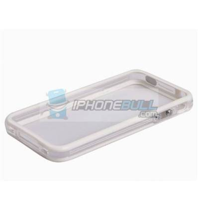 Bumper iPhone 4 4S - Blanco Transparente