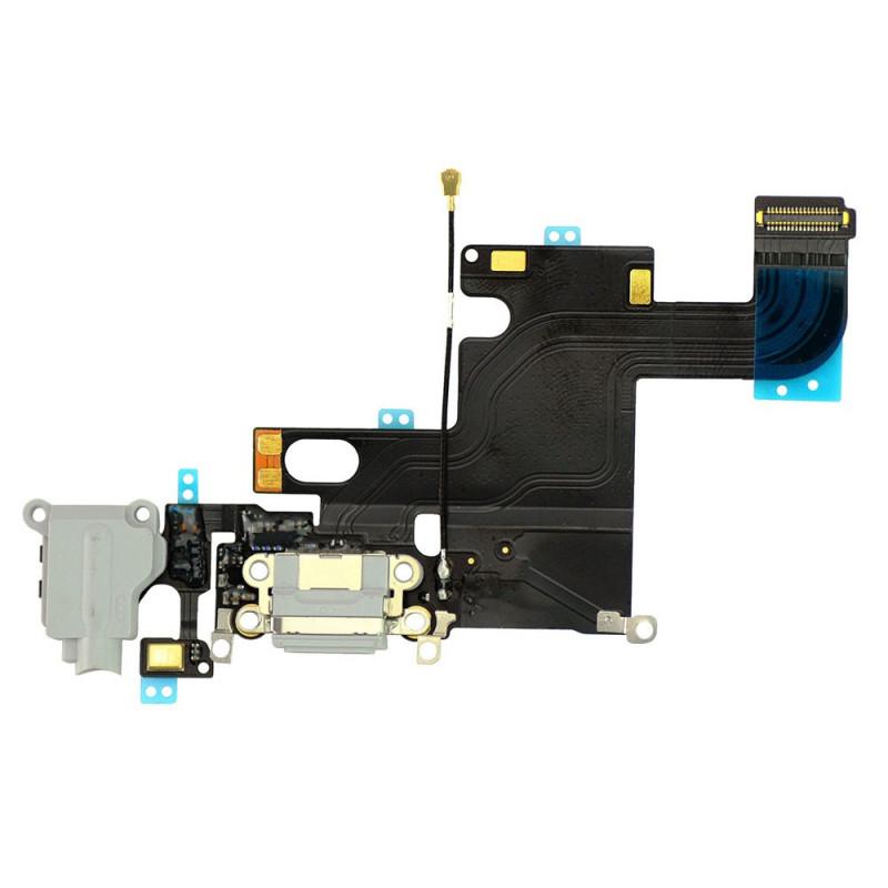 Flex Conector auricular microfono iPhone 6 (Gris)
