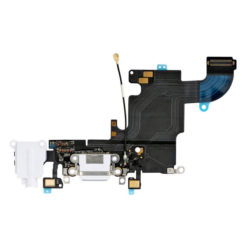 Flex Conector auricular microfono iPhone 6s (Blanco)