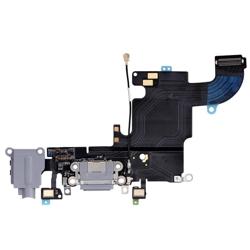Flex Conector auricular microfono iPhone 6s (Gris Oscuro)