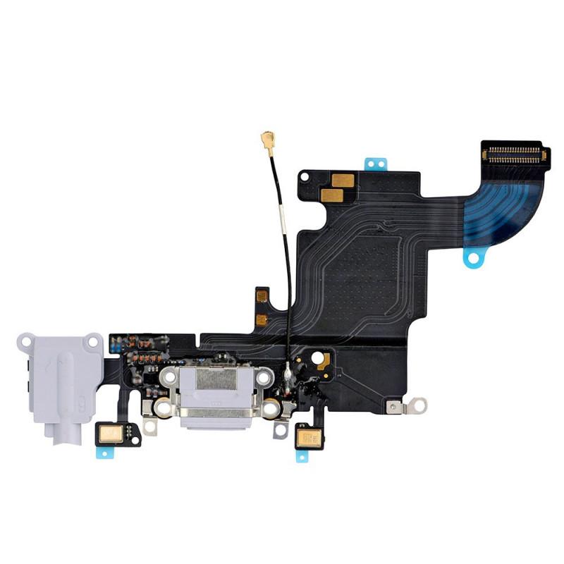 Flex Conector auricular microfono iPhone 6s (Gris)