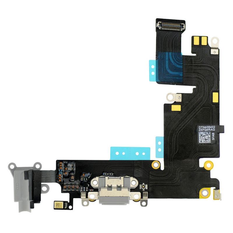 Flex Conector auricular microfono iPhone 6 Plus (Gris Oscuro)