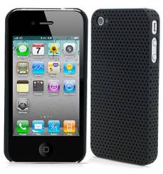 Carcasa Perforada iPhone 4 - Negro