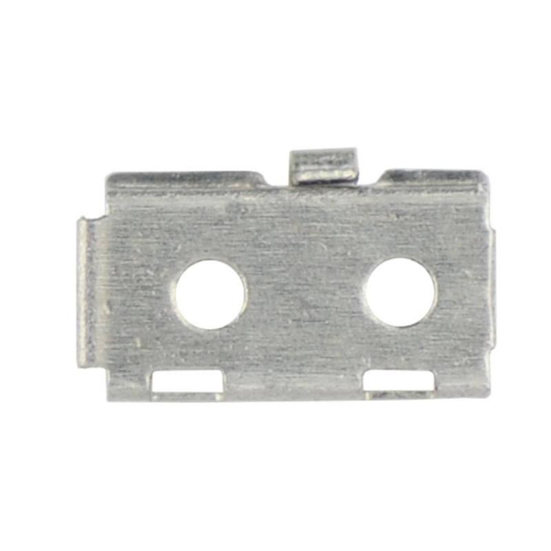 Soporte metálico botón home iphone 5s/se