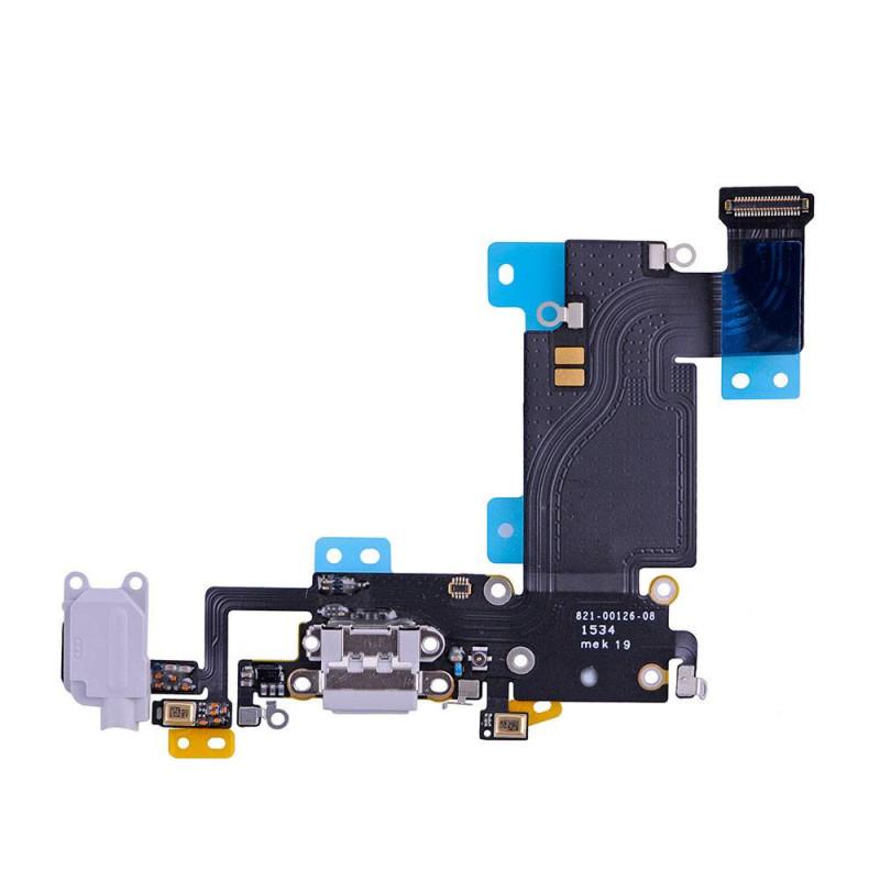 Flex Conector auricular microfono iPhone 6s Plus (Gris)