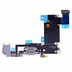 Flex Conector auricular microfono iPhone 6s Plus (Gris Oscuro)