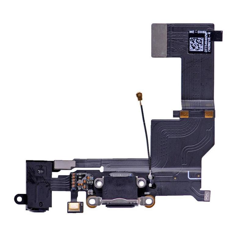 Flex Conector auricular microfono iPhone SE (NEGRO)
