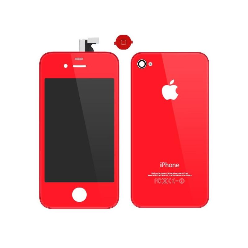 Kit de Conversión iPhone 4 - Rojo