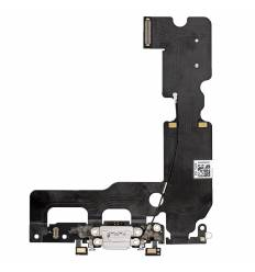 Flex Conector de carga microfono iPhone 7 Plus (Blanco)