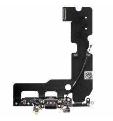 Flex Conector de carga microfono iPhone 7 Plus (Negro)