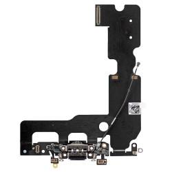 Flex Conector de carga microfono iPhone 7 Plus (Negro)