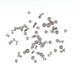 Set completo de tornillos iPhone 7 - Plata