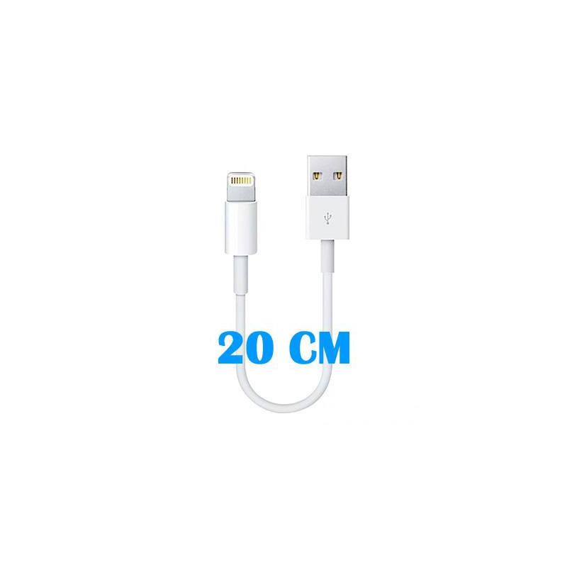 Cable de conector Lightning a USB (20 CM)