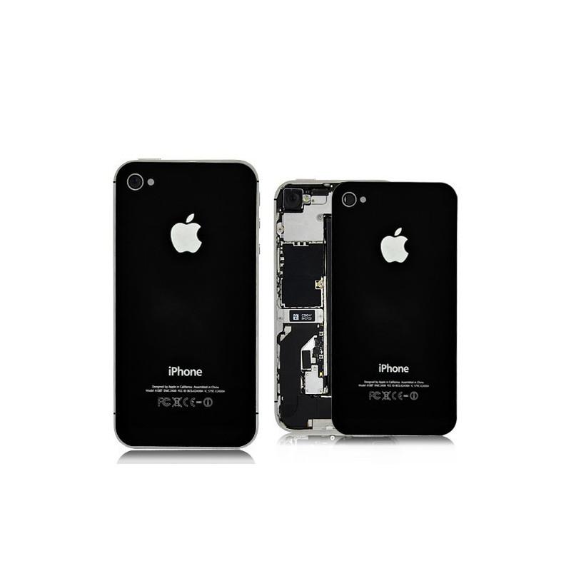 Tapa Trasera Negra iPhone 4S
