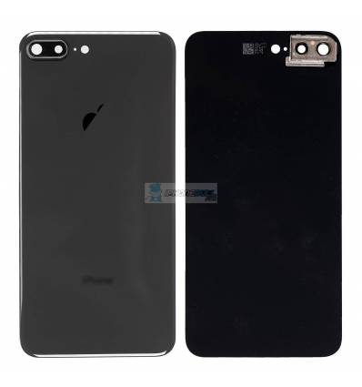 Tapa trasera iPhone 8 Plus - Negro