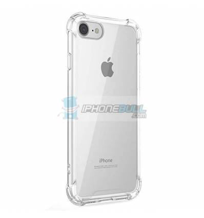 Carcasa Silicona Transparente Anti-Choque iPhone 7 8