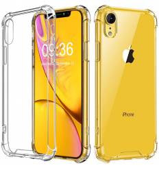 Carcasa Silicona Transparente Anti-Choque iPhone XR
