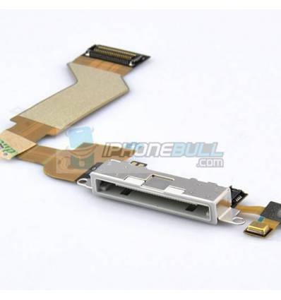 Conector Carga y Datos iPhone 4S - Blanco