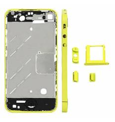 CHASIS METAL IPHONE 4 AMARILLO