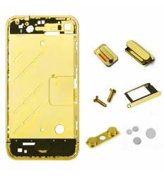 CHASIS METAL IPHONE 4 ORO
