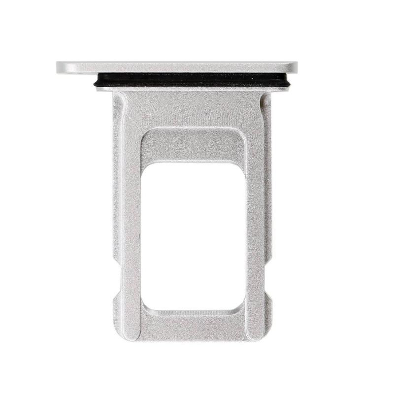 Porta SIM iPhone XR - Plata