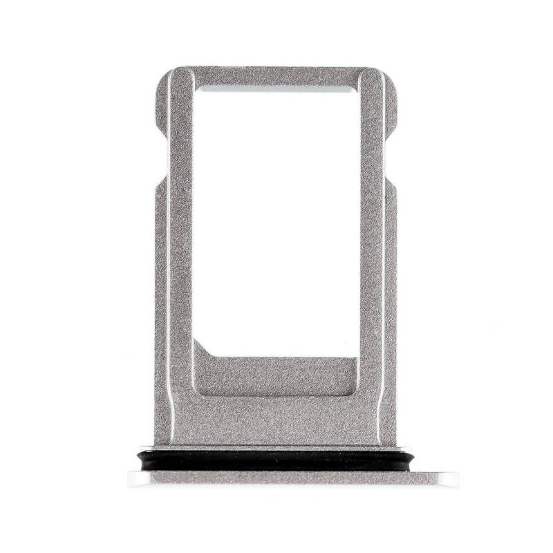 Porta SIM iPhone 8 A1905 - Plata