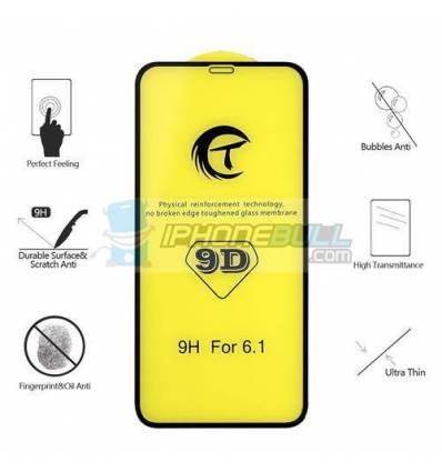 9D Protector Cristal templado iPhone XR / iPhone 11