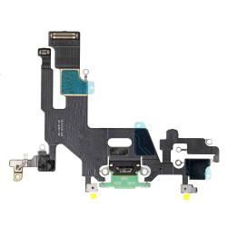 Flex Conector de carga microfono iPhone 11 A2221 (Verde)