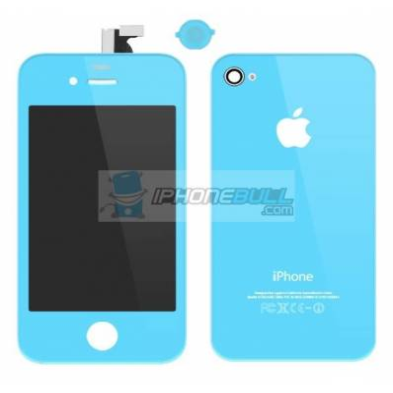 Kit de Conversión iPhone 4 - Azul Claro