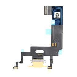 Flex Conector de carga microfono iPhone XR A2105 (Amarillo)