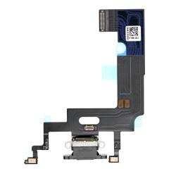 Flex Conector de carga microfono iPhone XR A2105 (Negro)