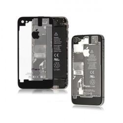 Tapa Trasera Transparente iPhone 4S - Negra