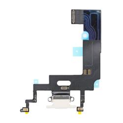 Flex Conector de carga microfono iPhone XR A2105 (Blanco)