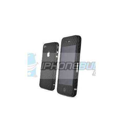 Skin Carbono iPhone 4 - Negro