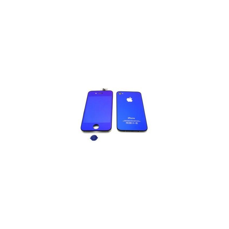 Kit de Conversión iPhone 4 - Azul Espejo