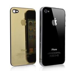 Tapa Trasera Oro Espejo iPhone 4