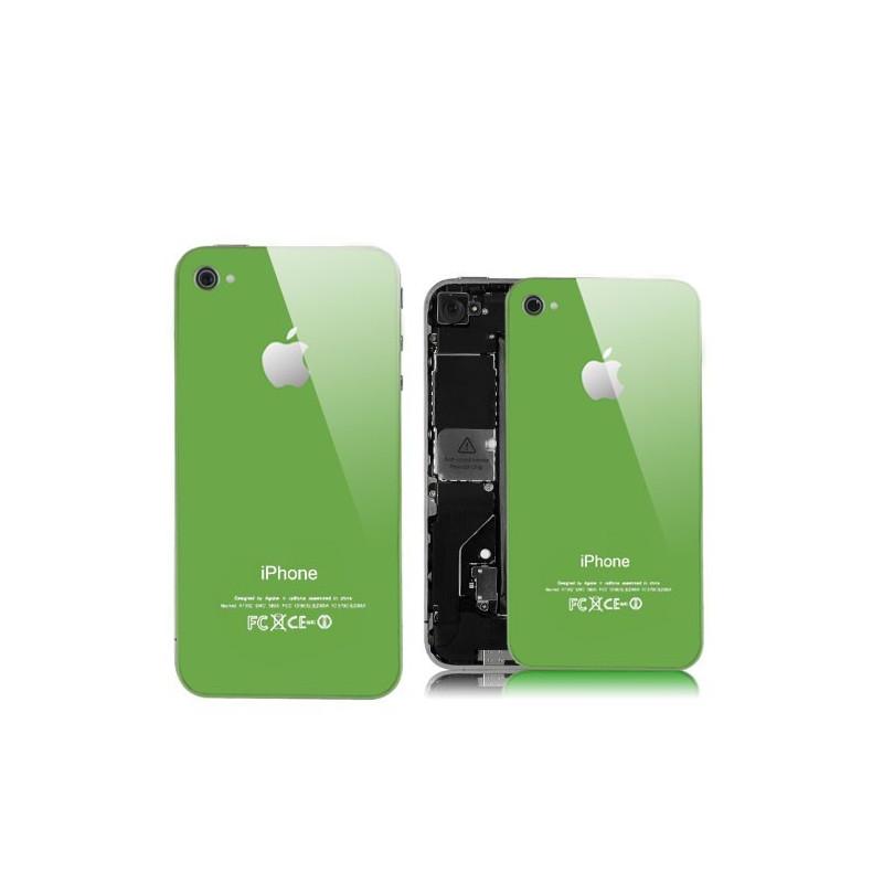 Tapa Trasera iPhone 4 - Verde