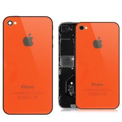 Tapa Trasera iPhone 4 - Naranja
