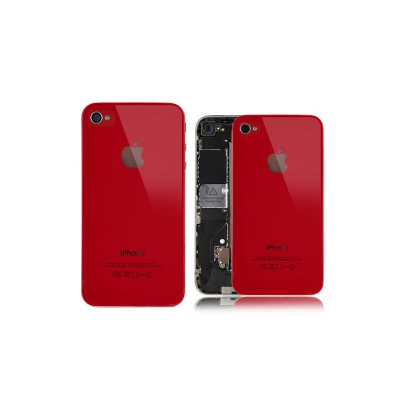 Tapa Trasera iPhone 4s - Roja
