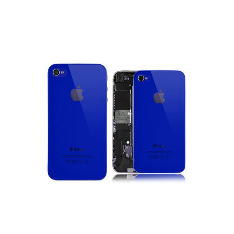 Tapa Trasera iPhone 4s - AZUL