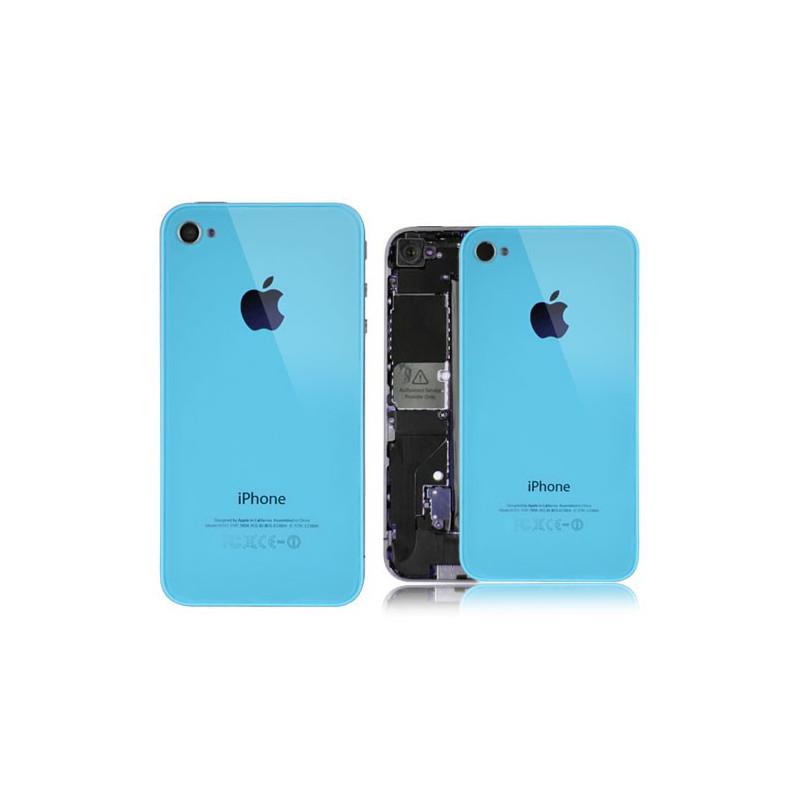 Tapa Trasera iPhone 4s - Azul Claro