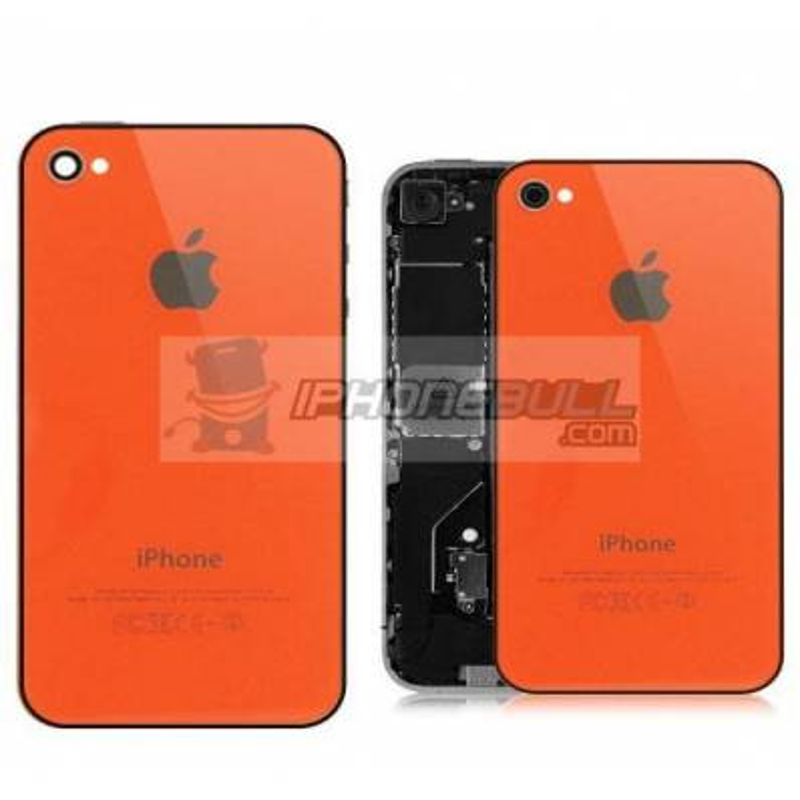 Tapa Trasera iPhone 4s - Naranja