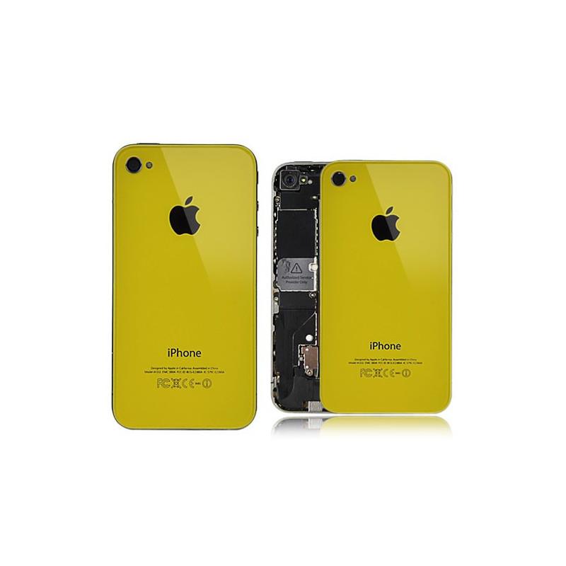Tapa Trasera iPhone 4s - Amarillo