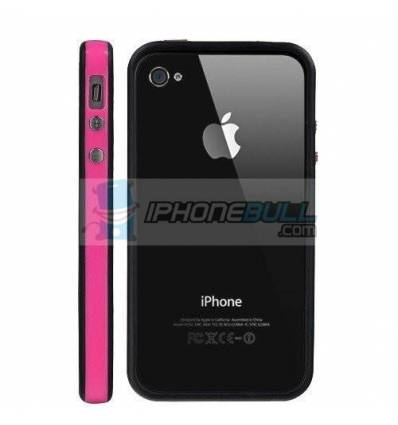 Bumper iPhone 4 4S - Rosa Negro