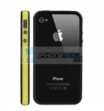 Bumper iPhone 4 4S - Amarillo Negro