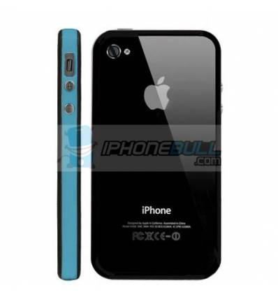 Bumper iPhone 4 4S - Azul Negro
