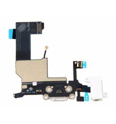 Flex Dock auricular microfono iPhone 5 (Blanco)